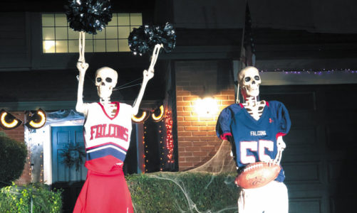 The skeletons of Scripps Ranch