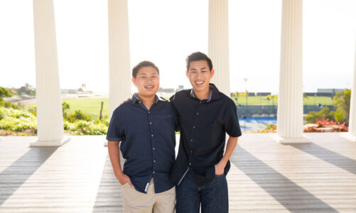Brothers create projects to help others