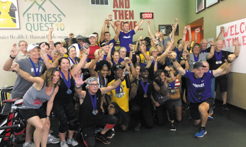 Fitness Quest 10 hosts 50+ Fitness Competition