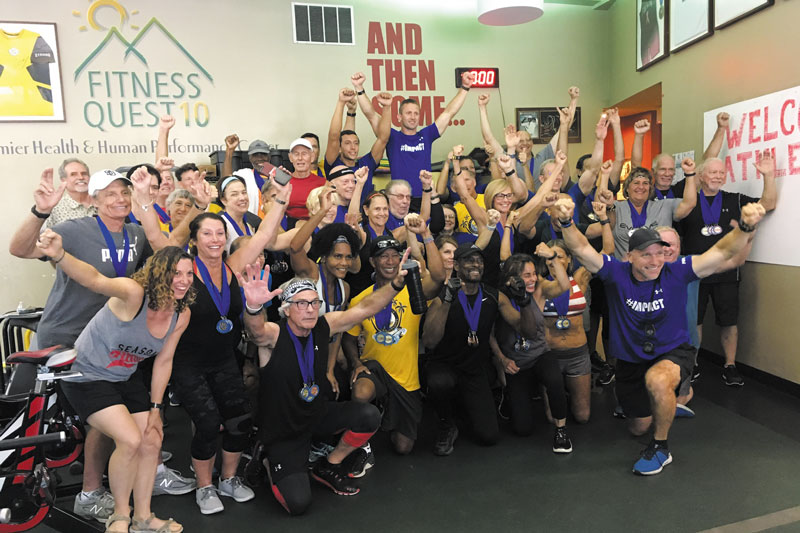 Fitness Quest 10 hosts 50+ competition